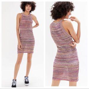 Urban Outfitters Dresses - 🆕NWT rainbow multicolored crochet Mini Dress